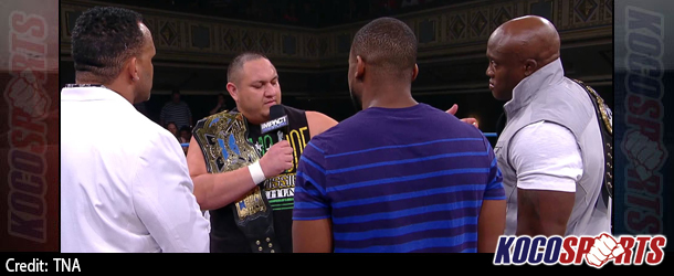 "Video: TNA Impact Wrestling coverage – 09/03/14 – (Joe steps up to MVP's claim of Lashley being the ""Toughest Man"")"