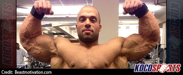 Video: Jon Delarosa trains legs in preparation for Mr. Olympia 2014