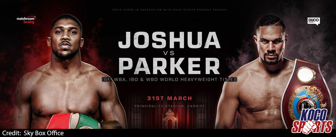 Video: Anthony Joshua vs. Joseph Parker – 03/31/18 – (Full Show)