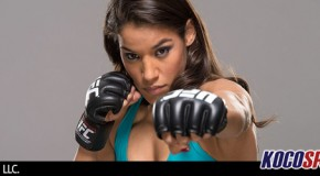 UFC's Julianna Pena allegedly kicked two men in the groin, prior to her arrest yesterday in Spokane, WA