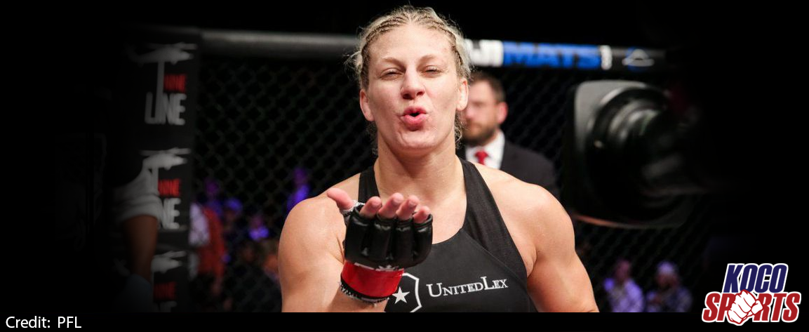 Video: Kayla Harrison wins pro MMA debut over Brittney Elkin via armbar