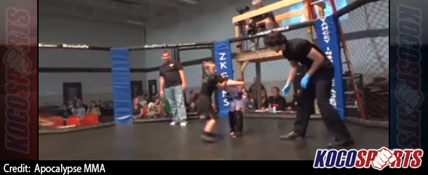 Video: Two six-year old girls step into the cage to engage in a Mixed Martial Arts fight