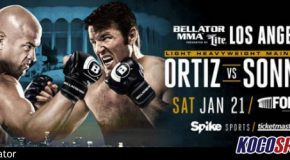 Bellator 170 fight card will feature Chael Sonnen vs. Tito Ortiz; January 21st from Inglewood, California
