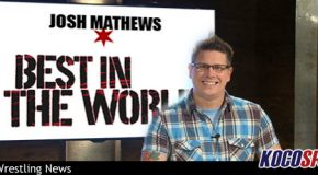 "Video: Josh Mathews claims to be the ""best play-by-play announcer in the world"""
