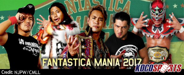 "Podcast: Kocosports – ""NJPW & CMLL Fantasticamania"" Review – 01/21/17 – (Maximo Sexy vs. Hechicero)"