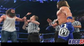 Podcast: Wrestle AM – 02/22/17 – (WWE Smackdown Live Review; AJ Styles & Luke Harper go to a Draw)