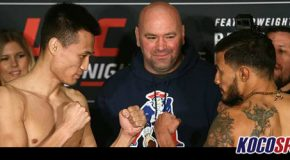UFC Fight Night 104 weigh-in results; Dennis Burmudez and Chan Sung Jung both make weight