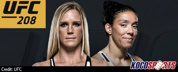 "Podcast: ""MMA AM"" – 02/08/17 – (UFC 208 Preview; Holly Holm vs Germaine de Randamie)"