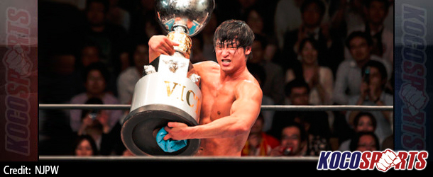 """NJPW's """"New Japan Cup Finals"""" results – 03/15/15 – (Kota Ibushi wins tournament; intends to challenge A.J. Styles for the IWGP World Heavyweight Title)"""