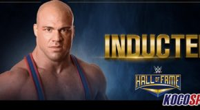 Video: WWE's official announcement on Kurt Angle's induction to the WWE Hall of Fame class of 2017
