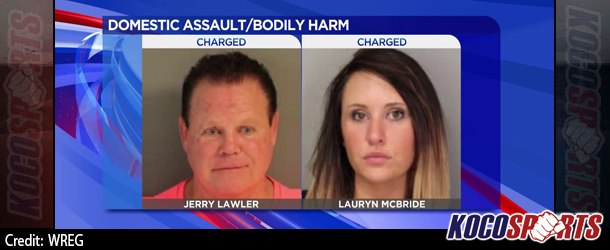 Jerry Lawler and his fiancee, Lauryn McBride, arrested on domestic violence  charges