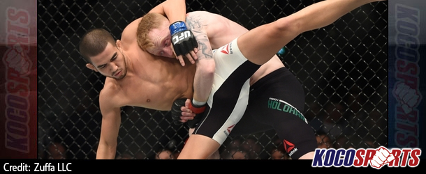 UFC Fight Night 76 results – 10/24/15 – (Louis Smolka finishes Paddy Holohan in entertaining scrap)