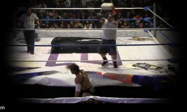 Video: Luchador, Dark Cuervo, hospitalized after opponent throws concrete block at his head
