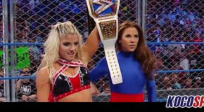Video: Mickie James returns to WWE TV on this week's edition of Smackdown LIVE; allies herself with Alexa Bliss