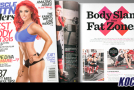 """WWE's Eva Marie featured on the cover of """"Muscle & Fitness Hers"""" magazine"""