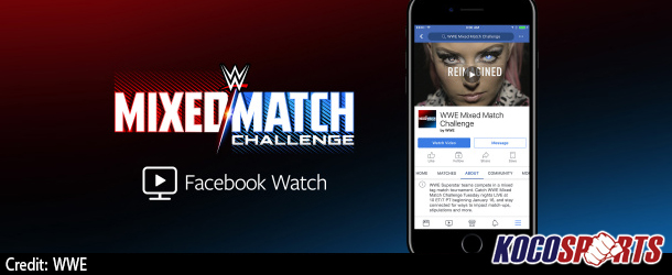 """Facebook Watch"" secures exclusive rights to WWE's new live, weekly show, Mixed Match Challenge"