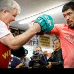 Video: Roach works out Pacquiao ahead of  welterweight title clash with Adrien Broner
