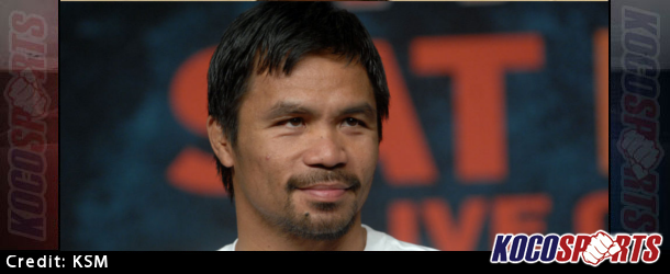 Video: Manny Pacquiao arrives at the Mandalay Bay Hotel and Casino in Las Vegas