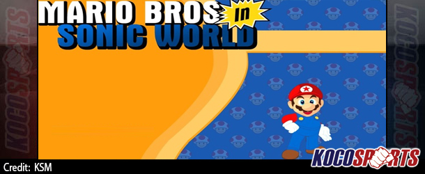 Max Arcade: Mario Bros in Sonic World – (Flash Game)