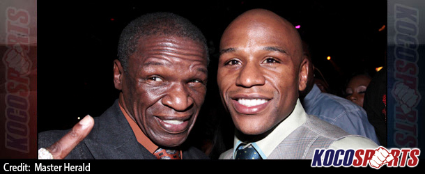 Manny Pacquiao fight is a family affair for Floyd Mayweather & his father