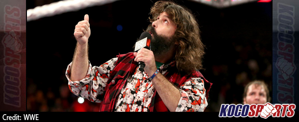 Video: WWE Monday Night Raw Coverage – 10/20/14 – (Mick Foley offers advise to Dean Ambrose and Seth Rollins)