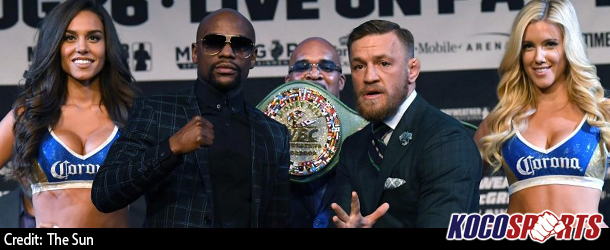 Mayweather and McGregor to battle for the Money Belt; WBC has created brand new belt for the fight
