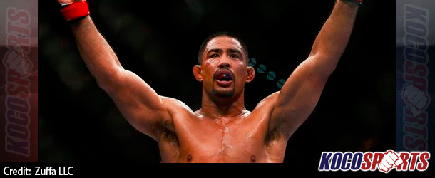 Video: UFC's Mark Munoz gives emotional goodbye as he announces his retirement following his victory over Luke Barnatt