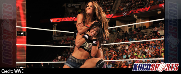 Video: WWE Monday Night Raw coverage – 09/22/14 – (AJ Lee vs. Nikki Bella)