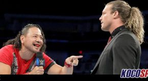 Shinsuke Nakamura indicates that Dolph Ziggler may have plans to leave WWE for Japan