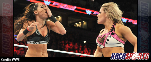 Video: WWE Monday Night Raw Coverage – 12/22/14 – (Natalya Neidhart vs. Brie Bella)