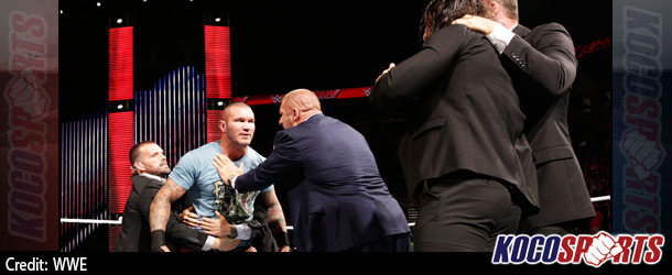 Video: WWE Monday Night Raw Coverage – 10/27/14 – (Randy Orton confronted Seth Rollins)