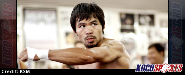 Manny Pacquiao performing well in sparring sessions as he prepares for Floyd Mayweather