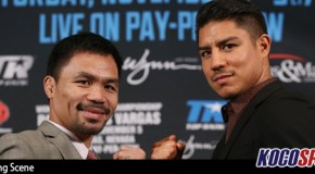 "Video: Full coverage of the ""Pacquiao vs. Vargas – World Welterweight Title"" press conference"