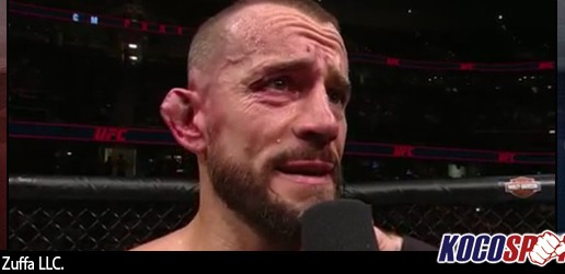 Mickey Gall victorious with a rear-naked choke in CM Punk's UFC debut; Punk says he will be back