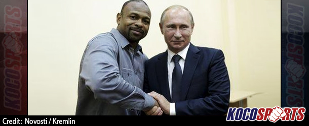 Legendary U.S. boxer, Roy Jones Jr. meets with Vladimir Putin and applies for a passport and Russian citizenship