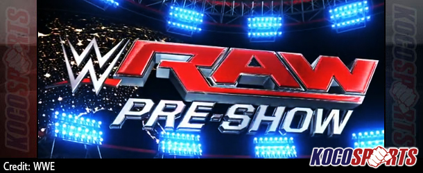 Video: WWE Raw Pre-Show – 10/20/14 – (Full Show)
