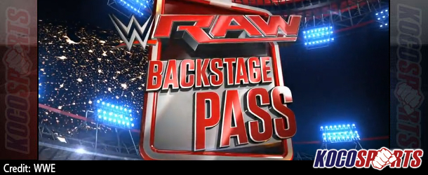Video: WWE Raw – Backstage Pass – 11/03/14 – (Full Show)