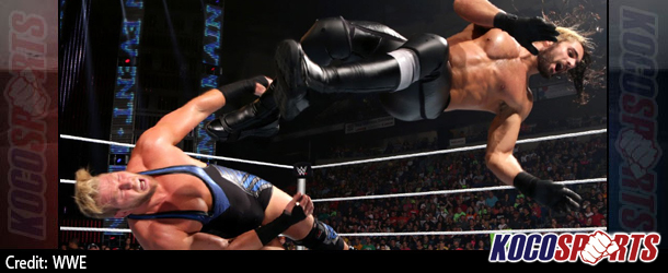 Video: WWE Main Event coverage – 09/09/14 – (Jack Swagger vs. Seth Rollins)