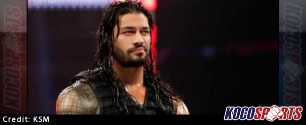 Roman Reigns suspended from action for 30 days due to a violation of the WWE Wellness Policy