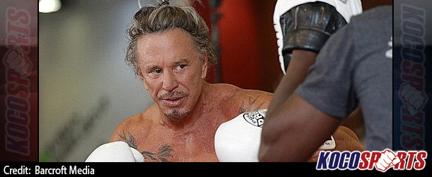 "Video: Mickey Rourke targeting more fights; tells Bernard Hopkins to ""bring it on"""