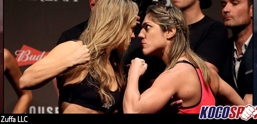 UFC 190 results – 01/08/15 – (Rousey knocks out and faceplants Correia in 34 seconds!)