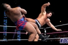 Alexander Rusev denies suffering knee injury at last Saturday's WWE Live Event in Bossier City