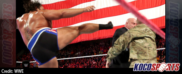 Video: WWE Monday Night Raw Coverage – 10/20/14 – (Alexander Rusev vs. Big E. Langston)