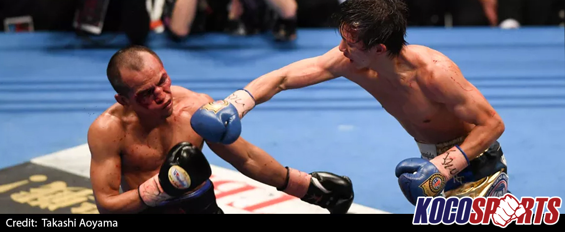 Ryoichi Taguchi unifies WBA & IBF light flyweight titles with New Year's Eve win over Milan Melindo