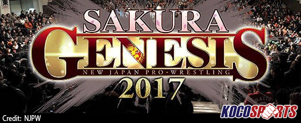 Video: NJPW Road to Sakura Genesis – 03/26/17 – (Full Show)