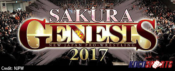 Video: NJPW Sakura Genesis – 04/09/17 – (Full Show)