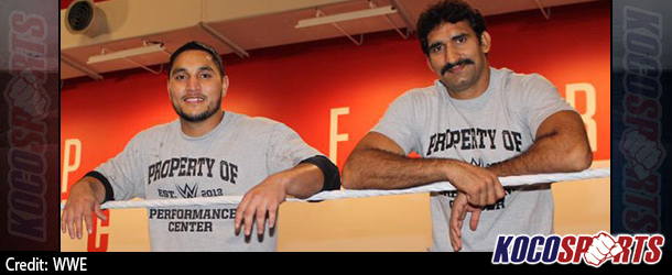 WWE announce the arrival of premier Indian athletes, Satender Ved Pal & Lovepreet Sangha, to the WWE Performance Center