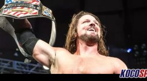 Video: AJ Styles wins the United States title from Kevin Owens at WWE Live Event in Madison Square Garden