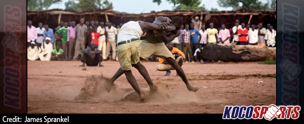 Nuba refugees in Sudanese Camps say wrestling tradition connects them to their past lives