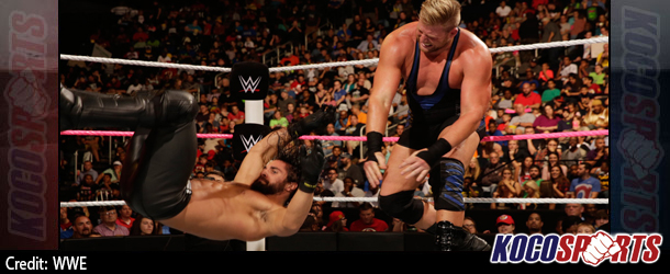 Video: WWE Monday Night Raw coverage – 10/13/14 –  (Seth Rollins vs. Jack Swagger)
